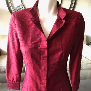 Dolce & Gabbana Silk Jacket/Shirt, size 40